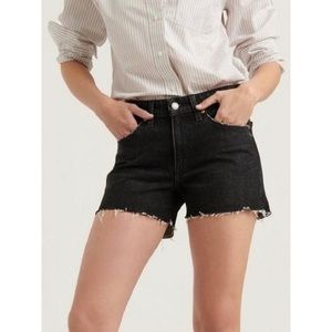 Lucky Brand Boyfriend Black Jean Relaxed Shorts